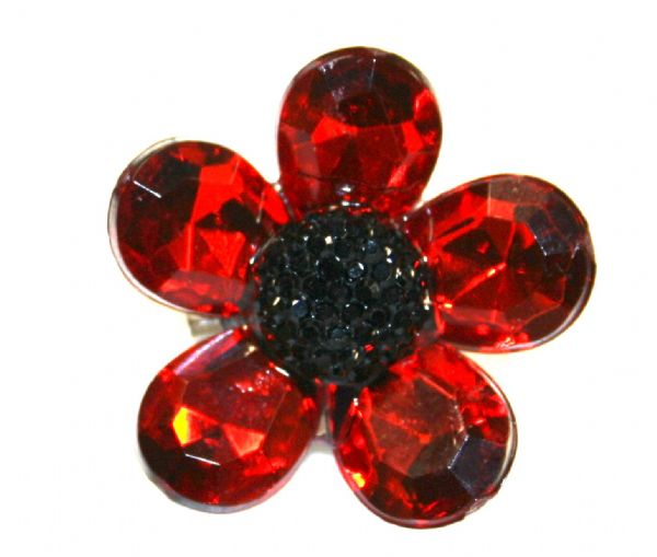 Remembrance Poppy Brooches - Make your own poppy brooch